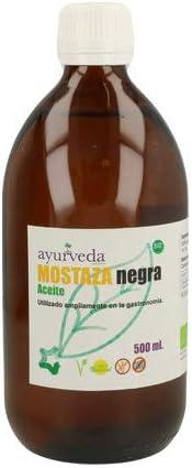 Ayurveda Autentico Aceite De Mostaza Negra - 500 ml