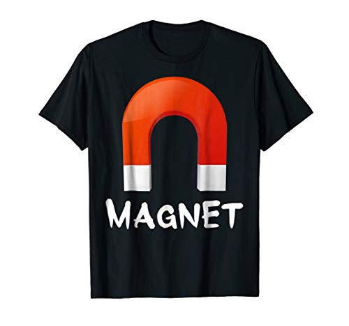 Magnet T-shirt Halloween Costumes Shirt Matching For Couples