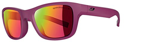 Julbo Kids Sunglasses - Julbo Kid's Reach Sunglasses with Spectron 3+ Lens, Matt Pink, 6-10 years