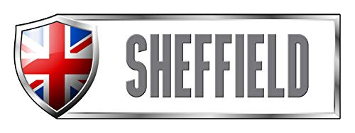 Makoroni - UNITED KINGDOM SHEFFIELD Country Nation Sticker Decal Car Laptop Wall Sticker Decal 3'by9' (Small) or 4'by12' (Large) (Sheffield Laptop)