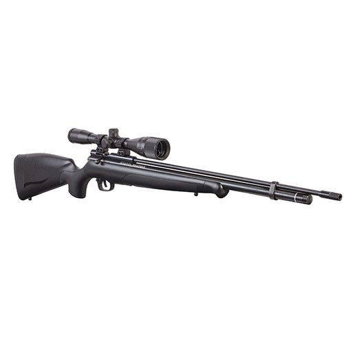 Crosman BPM22BNSX Maximus 6x40x40mm PCP Powered Bolt-Action Hunting Air Rifle, Black, 0.22 Caliber Bolt Action Hunting Rifles