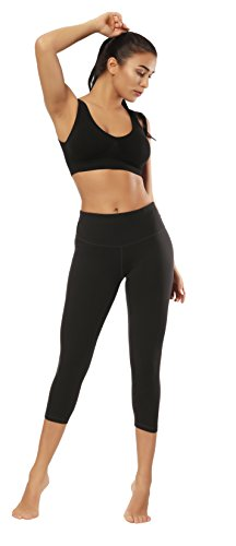Fengbay Capris Leggings, Capris Yoga Pants Tummy Control Workout Running 4 Way Stretch High Waist Capris Workout Leggings by Fengbay (Image #6)