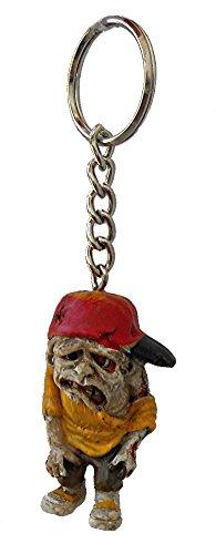 Urban ZOMBIE apocalypse keychain KEY CHAIN (Red Hat Urban Zombie) ()