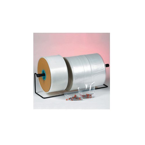 Ship Now Supply SNPT1604 Poly Tubing, 4 mil, 16'' x 1075', 16'' width, Clear