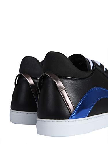 in Dsquared2 nera Men pelle Snm000601500409m041 Sneakers qSxXgnSrw6