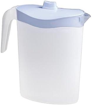 Metaltex 736125 Jarra de plástico para puerta de refrigerador 2.5 l, Surtido: Colores Aleatorios