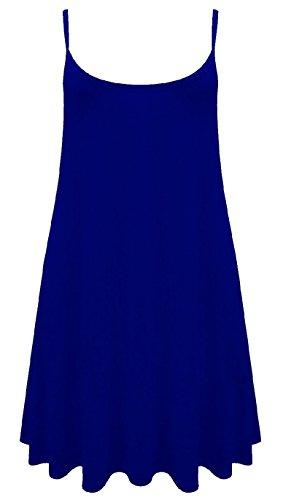 Camiseta o mini vestido sin mangas para mujer, tallas de la 36 a la 54 ROYAL CAMI DRESS