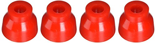 Energy Suspension 9.13125R Ball Joint Dust Boot Set; Red; Front; Performance Polyurethane; Incl. 2 Upper/Lower Ball Joint Boots; Ball Joint Boot Set