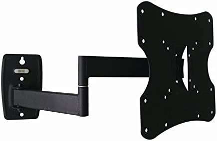 ProHT Articulating TV Wall Mount Full Motion 05329 for TV Flat Panel Monitor 23 to 42,Tilt 15 Swivel 90 ,VESA up to 200×200,Cold-Rolled Steel Material, Max Load 55 Lbs