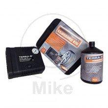 TERRA S Reifen-Pannenset STANDARD KIT inkl. Kompressor & Dichtmittel 519.26.38