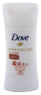 Dove Advanced Care Antiperspirant Deodorant, Skin Renew, 2.6 Ounce (Pack of 2)