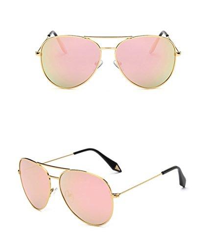 Gafas Espejo Gran Marco Gafas 3 sol amp;Gafas 7 personalidad Lente Color protecciónn Gafas Película Vintage de X9 polarizada de de amp; BIg4a6B