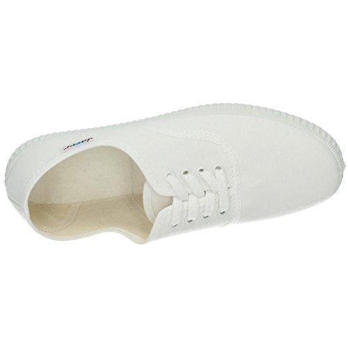 Ingles Blanco Bambas JAVER Lona 60 Zapatillas Mujer Ywvn7xTnqA
