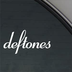 Deftones Decal Rock Band Car Truck Window Sticker