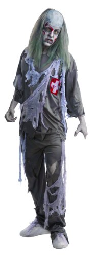 Forum Novelties Mens Scary Zombie Doctor Theme Party Fancy Dress Costume, One Size (Up To 42)
