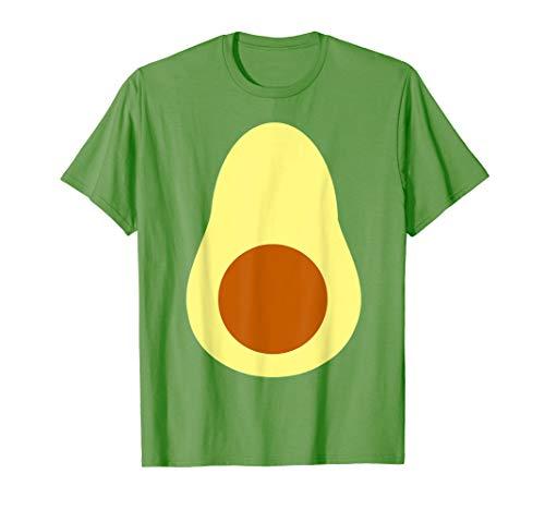 Avocado Costume Fruit Carnival DIY Last Minute Halloween T-Shirt]()