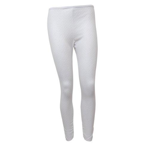 Universal Textiles Ladies/Womens Thermal Underwear Long Jane (Heat Trap Range) (12-14) (White)