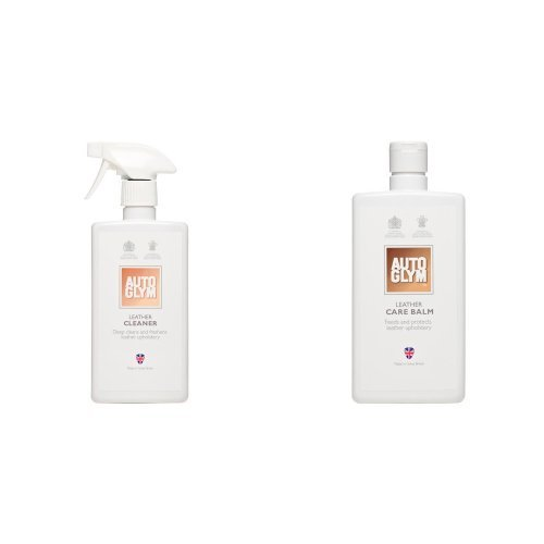Autoglym AG 215007 Leather Cleaner, 500ml - white Altro Ltd.