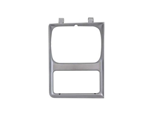 Bundle 85-88 Suburban C10-30 Pickup Single Rectangular Headlight Door Silver Set