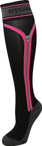 (EPONA Zipper Boot Socks - Orange)