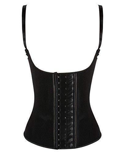 luxilooks Waist Trainer Vest Latex Womens Underbust Corset Plus Size Shapewear