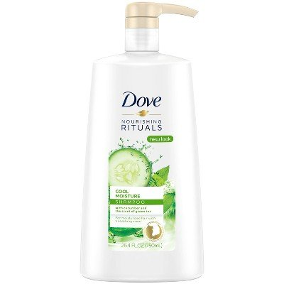 Dove Nutritive Solutions Shampoo Cool Moisture - 25.4oz