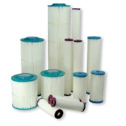 (Harmsco PP-S-1 9 3/4 1 Micron Absolute Poly-Pleat Filter Cartridge )