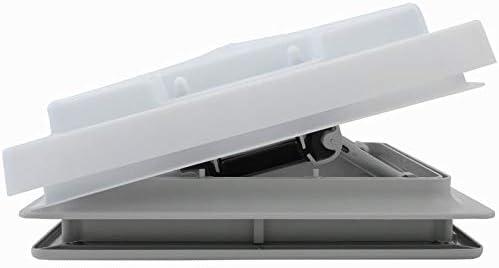 MPK Dachluke Dachfenster Dachhaube 28 x 28 Wohnwagen Wohnmobil Caravan grau