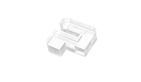 Amazon.com : eDealMax Acuario pecera de plástico DE 6 mm de espesor Clip Holder Claro 1 x 1 : Pet Supplies
