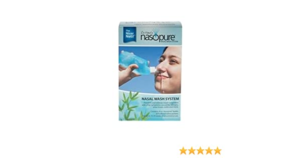 Nasopure Nasal Irrigation System for Sinus Cleanse or Flush