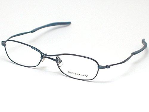SPIVVY スピビー メガネフレーム SP-1027 BL めがね メンズ レディース おしゃれ ブランド 人気 フレーム 流行り レンズ   B07F7CHTLZ