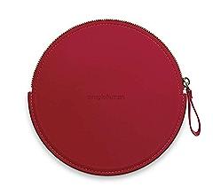 Pink Vegan Leather simplehuman ST9005 Sensor Mirror Compact Zip Case