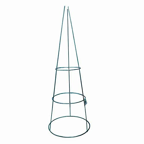 MTB Green Coated Steel Tomato and Plant Support Cage 33 inch, Pack of 20 by MTB