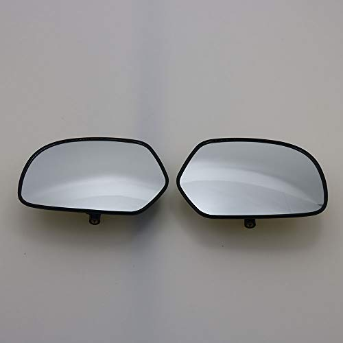 FINCOS 1 Pair Motorcycle Clear Rear View Side Mirror Glass case for Honda Goldwing GL1800 2001-2012 F6B 2013-2016
