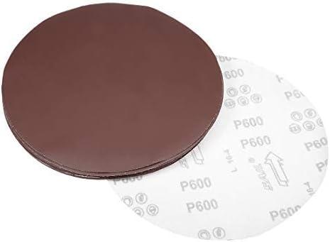 - 9-inch sanding disc, 600-grit sandpaper for sander, 10 pieces