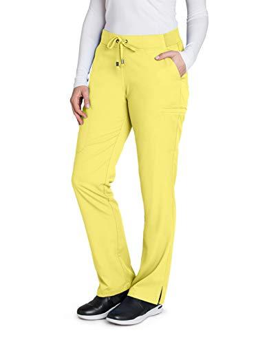 Grey's Anatomy 4277 Straight Leg Pant Sunshine ()