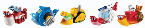 Dreamworks Turbo Movie Moments Shell Racers Rescue Squad Vehicle (Turbo Snail Shell)