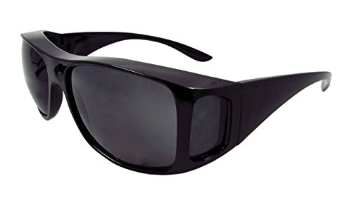 ELLITE HD Clear Vision Wraparound Driving Sunglasses Wear Over Prescriptiom - Seen Sunglasses