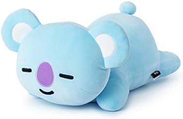 BT21 Official Merchandise by Line Friends – KOYA Character Lying Pillow Cushion 19.7