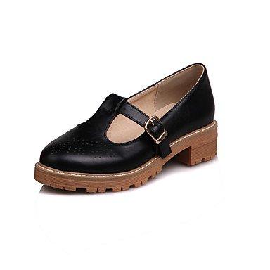 Eté Chaussures Décontracté Soirée black ggx microfibre Femme LvYuan de à Talons amp; Printemps synthétique Polyuréthane Escarpin EvénementEscarpin Basique PU OBfHEqw