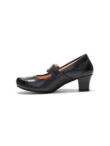 Spieth Mujer Negro Vestir de Zapatos Wensky Negro para 4Fw4qO1nH