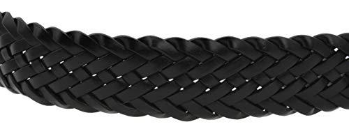 Colore Cintura E 35 Nero Uomo Mm Medio Con Piccolo Intreccio Intrecciata; Disponibile YxwvfEwgqy