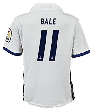 new products 8377c 02deb 11 Gareth Bale Youth Real Madrid Home Team Soccer Jersey + ...