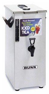 Bunn Square Style Iced Tea Coffee Dispensers -TD4T-0005 4 Gal Iced Tea Dispenser