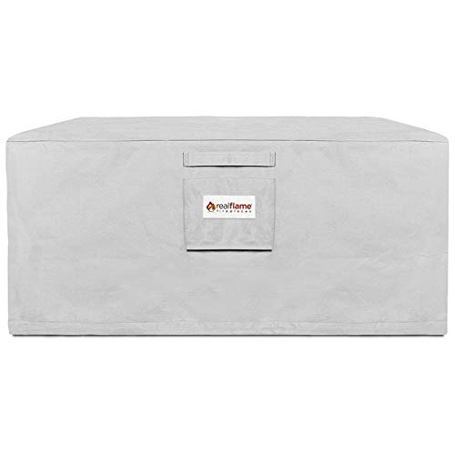 Real Flame A9620 Baltic Square Protective Cover, Light Gray by Real Flame