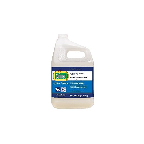 Proctor & Gamble Comet Disinfecting Bathroom Cleaner with Bleach, Gallons, 3 Per Case