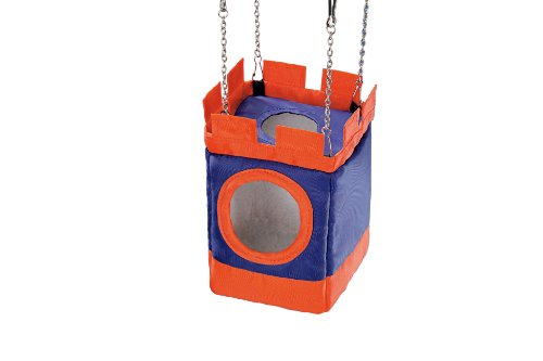 Nobby Cubbyhole Tower for Hamsters and Mice, 10 x 10 x 19 cm