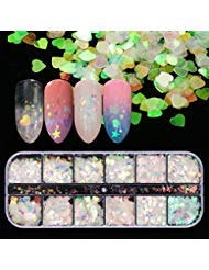 Used, 12 Boxes Holographic Nail Sequins Iridescent Mermaid for sale  Delivered anywhere in USA