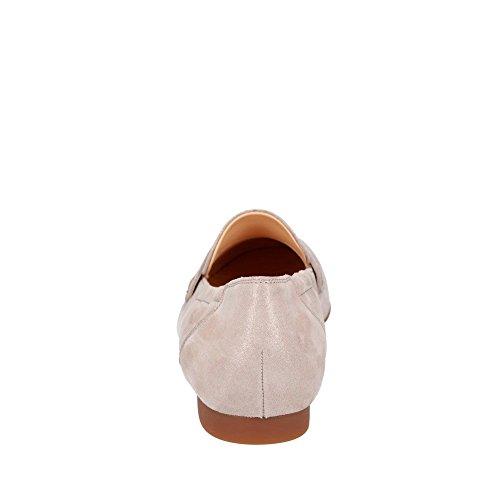 Paul Green 1070-009 Damen Slipper aus edlem Veloursleder Lederinnenausstattung, Groesse 5 1/2, beige