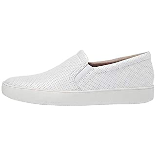 Naturalizer womens Marianne Sneaker, White Perf, 11 Narrow US